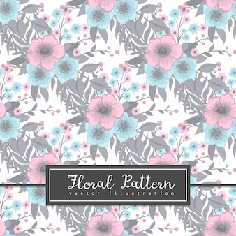 Floral pattern  with berries.