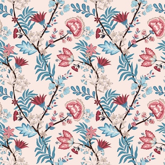 Floral pattern with oriental style