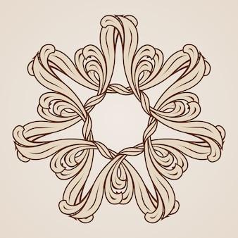 Цветочный узор