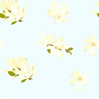 꽃 무늬 프리미엄 벡터
