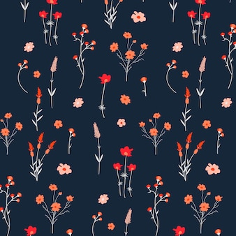 Floral patterned background