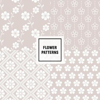 꽃 패턴 디자인