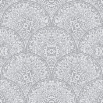 Floral seamless pattern background in arabian style.