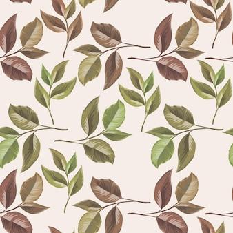 ファッションのための花のシームレスなパターン