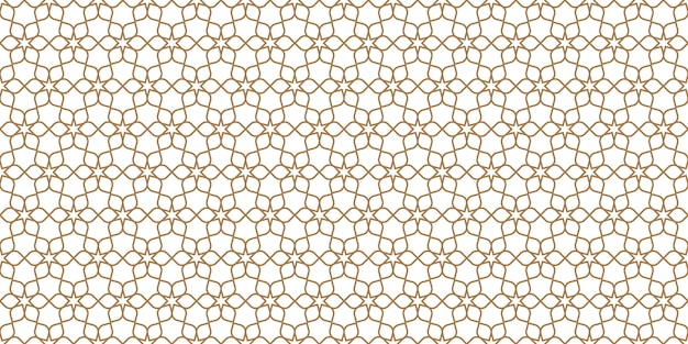 Floral seamless pattern in oriental style, delicate ornament, beige and white texture
