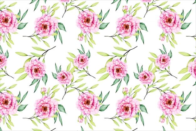 花と花のシームレスなパターン
