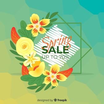 꽃 봄 판매 배경