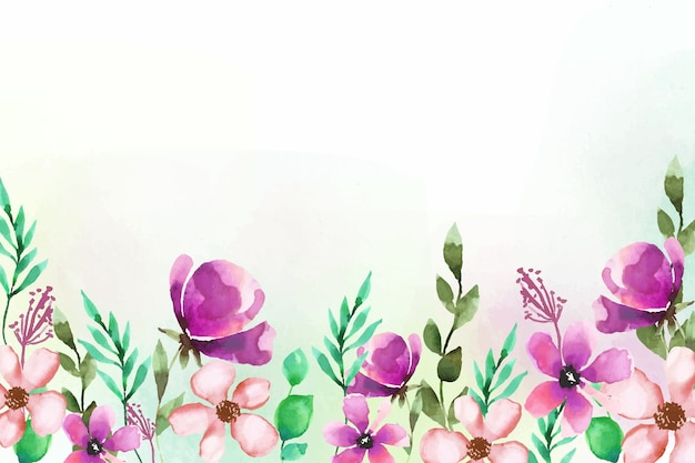 Floral style background