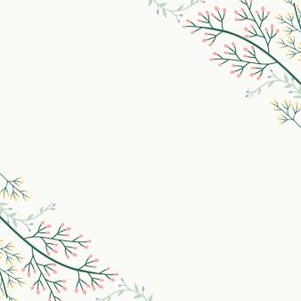 Floral summer background