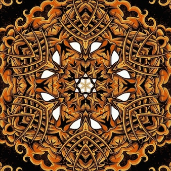 빈티지 만다라 요소와 꽃 텍스처입니다. 벽지, 패턴 채우기, 웹 페이지 배경, 표면 질감에 사용할 수 있습니다. 이슬람, 아랍, 인도, 오스만 모티브