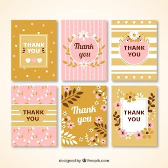 フローラルカードありがとうカードコレクション