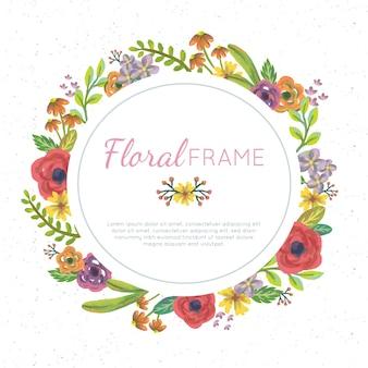 Цветочная рамка для цветочных вод
