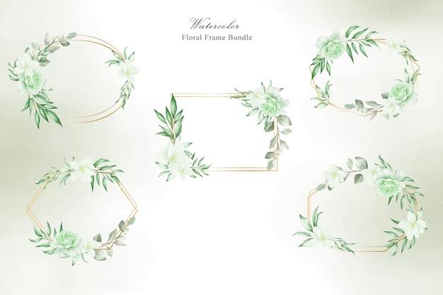 Floral wedding bundle
