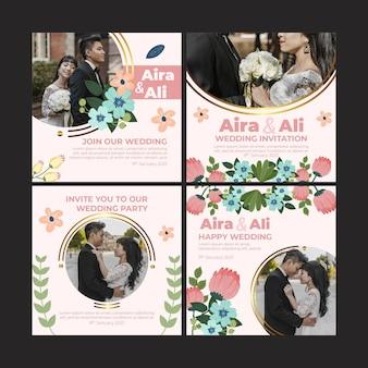 花の結婚式のinstagramの投稿コレクション