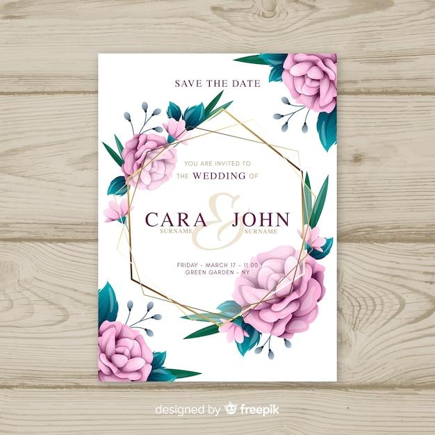 wedding invitation download free