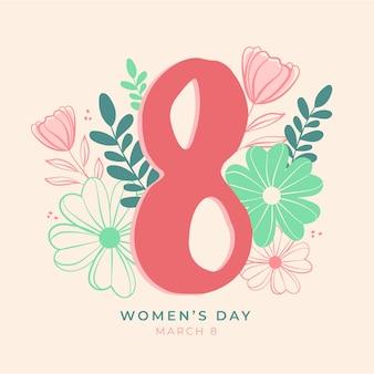Цветочный женский день