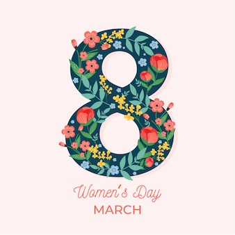 Floral women's day