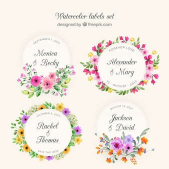 Floral wreath collection