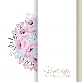 Florals wedding cards template