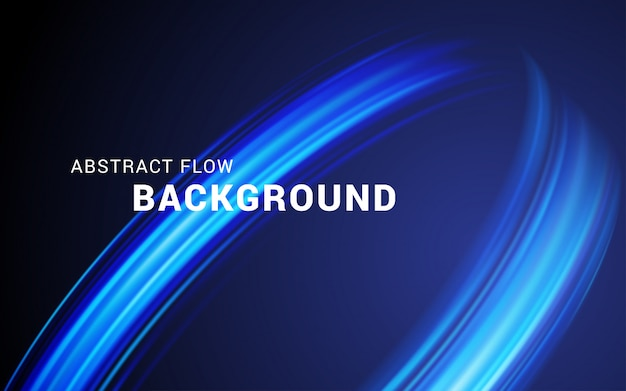Flow abstract background vector illustration.