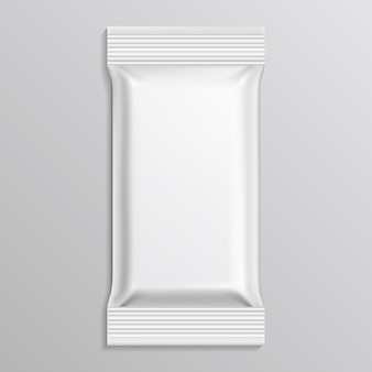 Flow blank white pack  template
