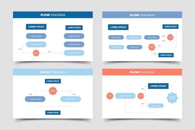 Блок-схема инфографики