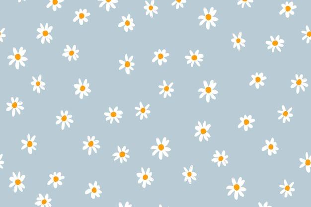 花の背景のデスクトップの壁紙、かわいいベクトル