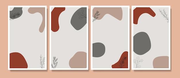 花自由奔放に生きるポスターカバー一線画