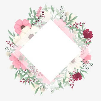 Flower Border Free Vectors Stock Photos Psd
