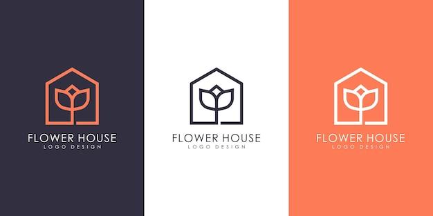 Цветочный дом логотип