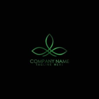 Flower logo simple creative template  vector design