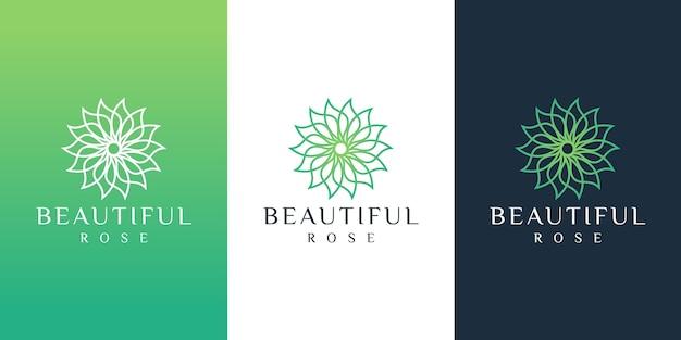 Цветочный логотип