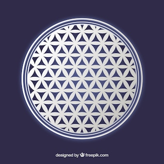 Цветок жизни символ