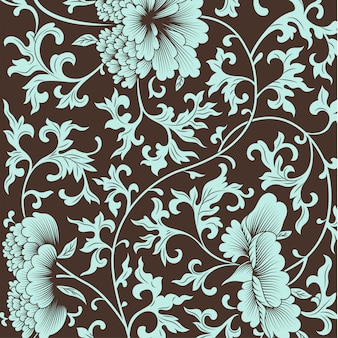 Flower pattern in chinese style.