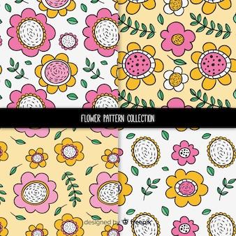 Flower pattern collectio