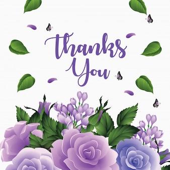 Flower Purple thanks you