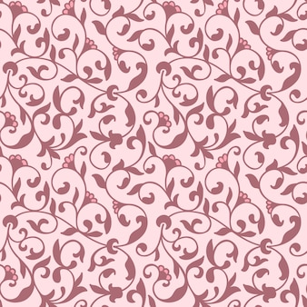 Flower seamless pattern background. elegant texture for backgrounds.