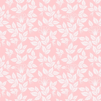 Flower seamless pattern background