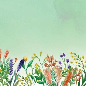 背景パターンの花の春