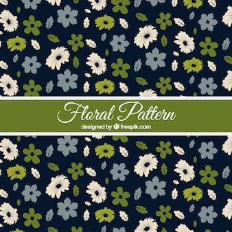 꽃과 나뭇잎 패턴