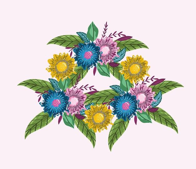 꽃 꽃다발 자연 꽃 잎 장식 그림 그림