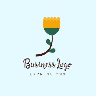 Flowers business logo