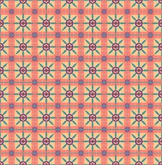 Графический узор листьев цветов. для подарочной бумаги, обоев, фона веб-страницы. векторная иллюстрация