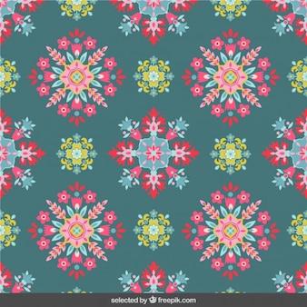 Цветы мозаика