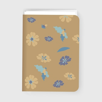 Flowers Notebook Graphic Illustration