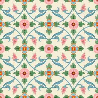 Flowers ornament seamless pattern