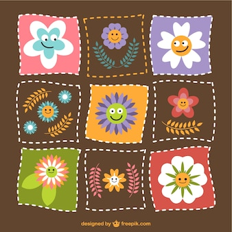 Flowers patchwork