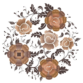 Flowers vintage fowers create style in a unique style