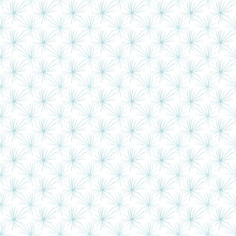Fluffy snowflakes pattern
