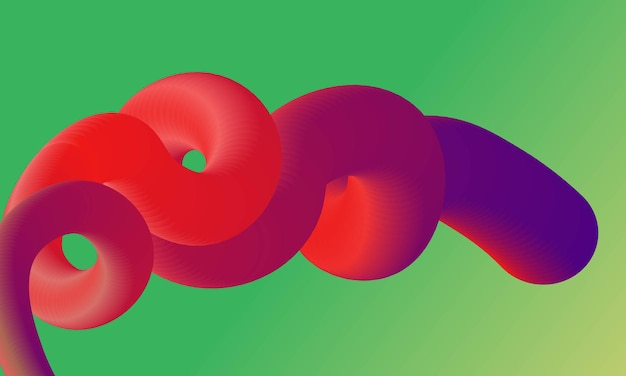 Fluid abstract background for website